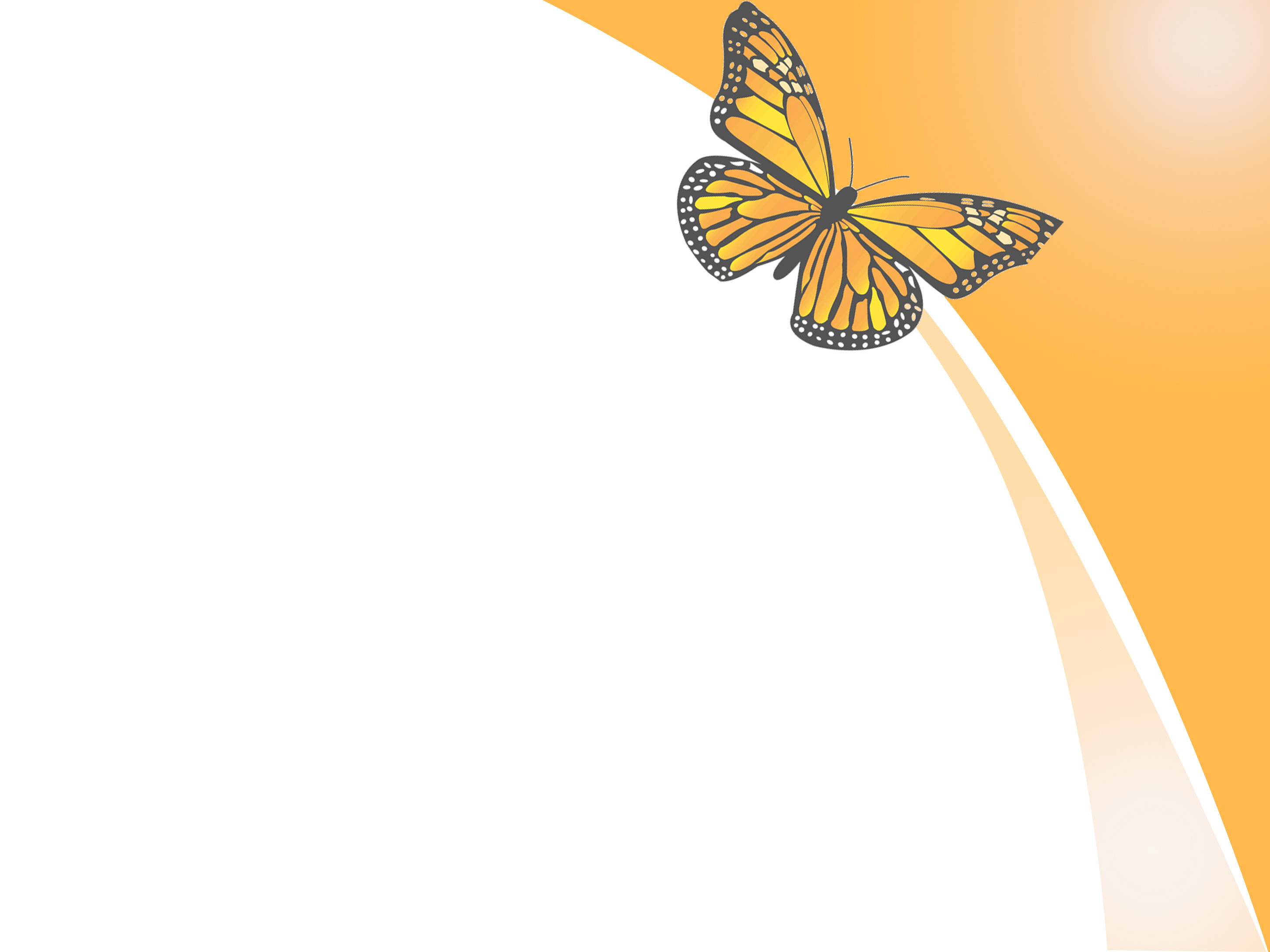 template powerpoint butterfly