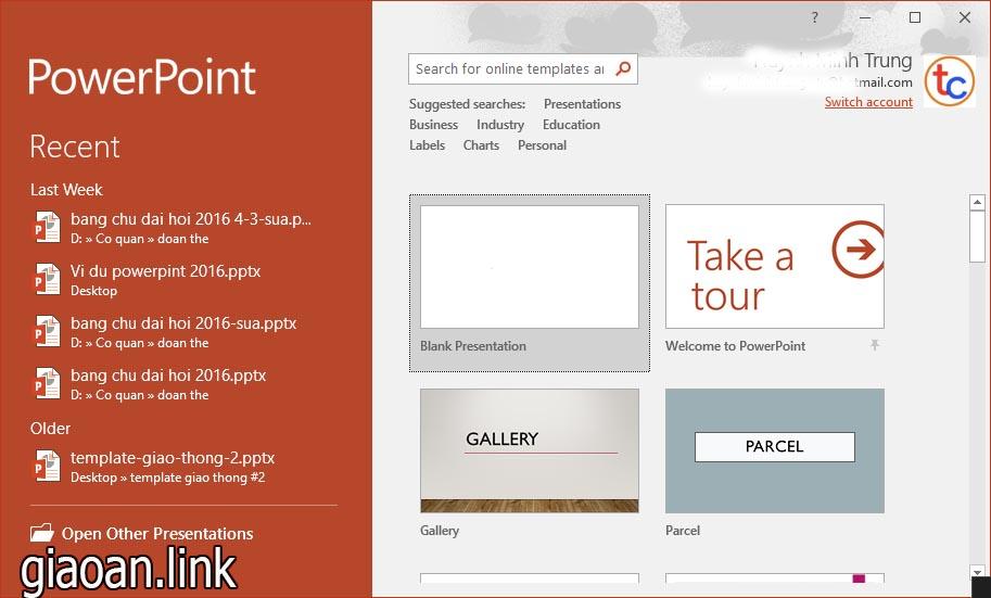 Cách làm powerpoint - tạo slide mới