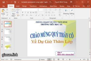 template powerpoint cong nghe