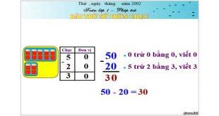 Bài giảng powerpoint toán 1
