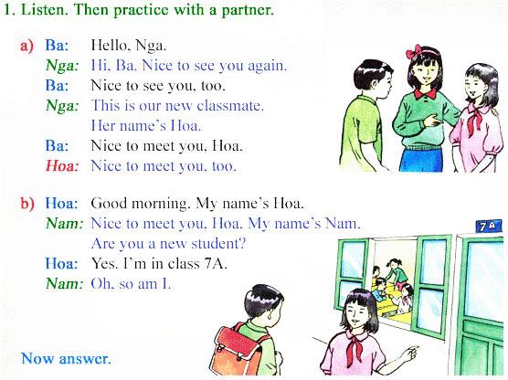 Học tiếng anh online phần 1
