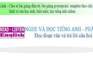Học tiếng anh online phần 2