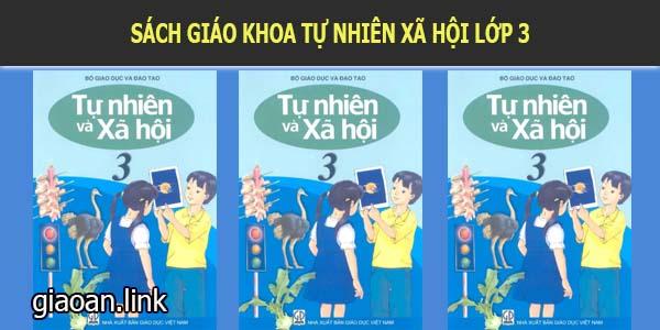 Sách giáo khoa tự nhiên xã hội 3