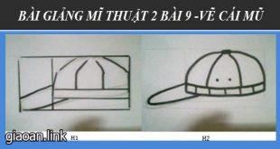 Bài giảng điện tử mĩ thuật lớp 2 bài 9 - vẽ cái mũ