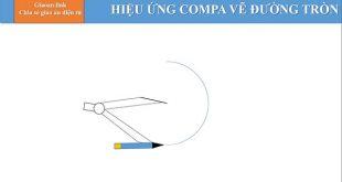 animation powerpoint - hiệu ứng powerpoint vẽ đường tròn.
