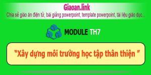 Tài liệu bồi dưỡng thường xuyên tiểu học module TH7