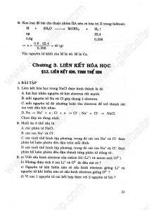 Giải bài tập hóa học lớp 10