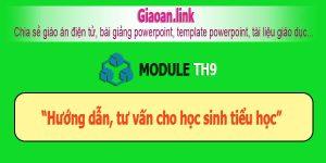 Tài liệu bồi dưỡng tiểu học module th9