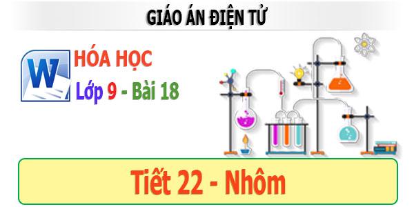 giáo án điện tử hóa học 9 bài 18 Nhôm