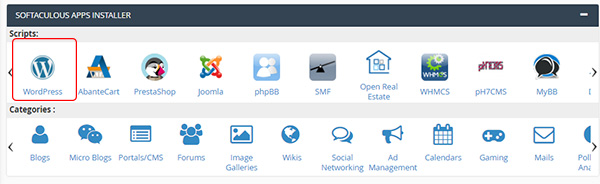 cài wordpress trên hosting