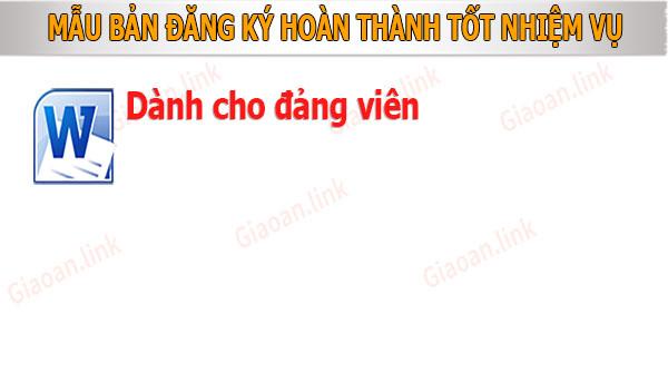 mau ban dang ky hoan thanh tot nhie vu cho dang vien
