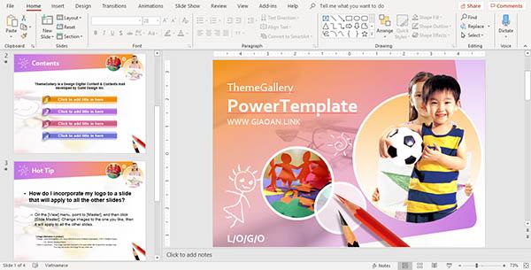 slide powerpoint mẫu đẹp