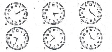 Toán lớp 3 thực hành xem đồng hồ