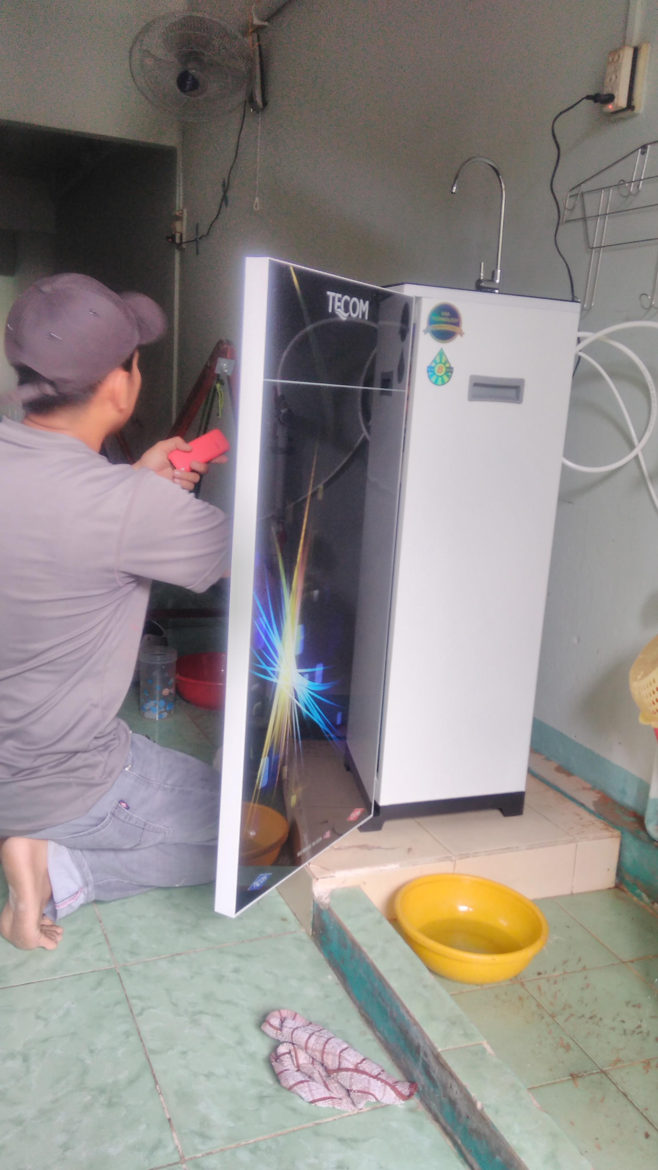 Dịch vụ sửa máy lọc nước cà mau