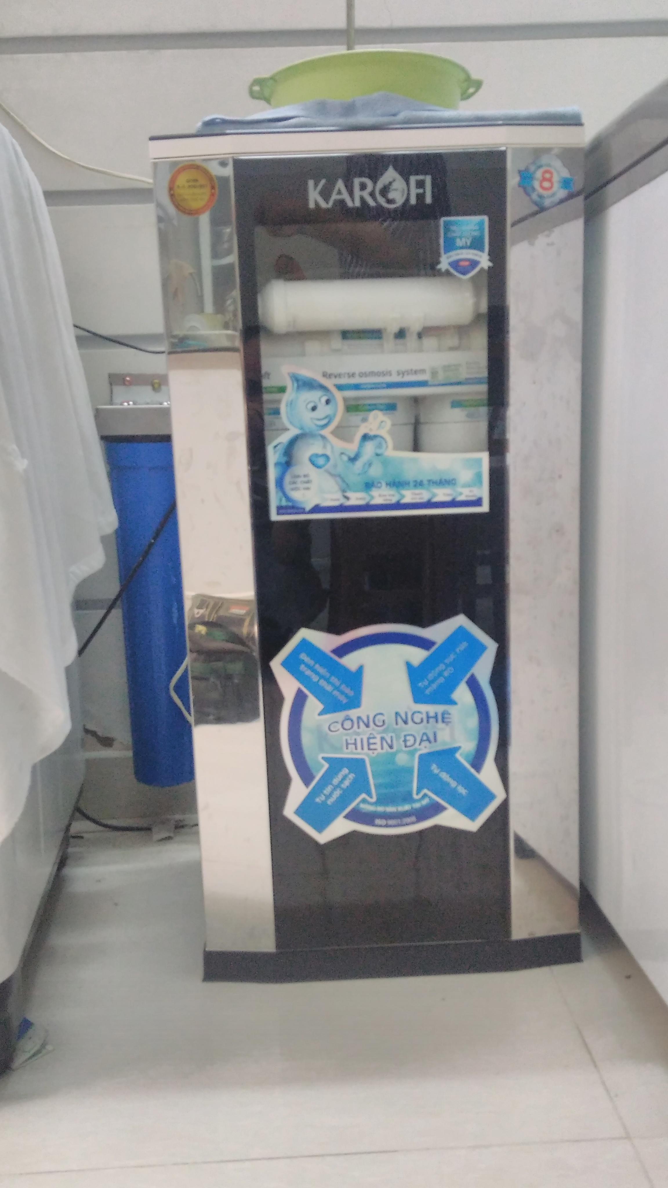 máy lọc nước cà mau - máy lọc nước carofi