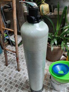 Cột lọc phèn nước tạo cà mau