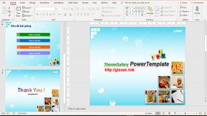template powerpoint education - mon toan v8
