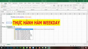 thu hanh ham weekday