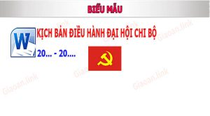 Chuong trinh dai hoi chi bo