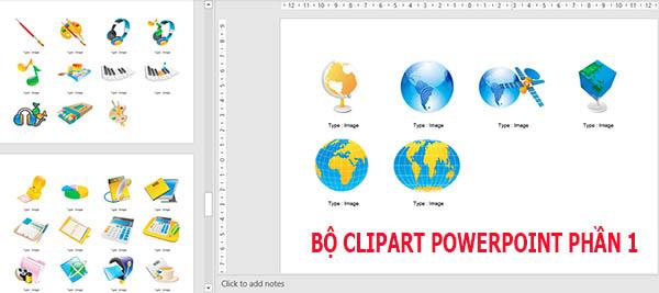 bộ clipart powerpoint phần 1