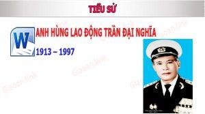 anh hung lao dong Trần Đại Nghĩa