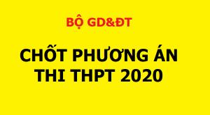 PHUONG AN THI THPT 2020