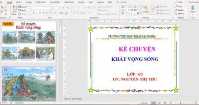 bai giang powerpoint ke chuyen lop 4 khat vong song