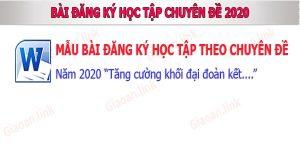 ban dang ky hoc theo chuyen de 2020