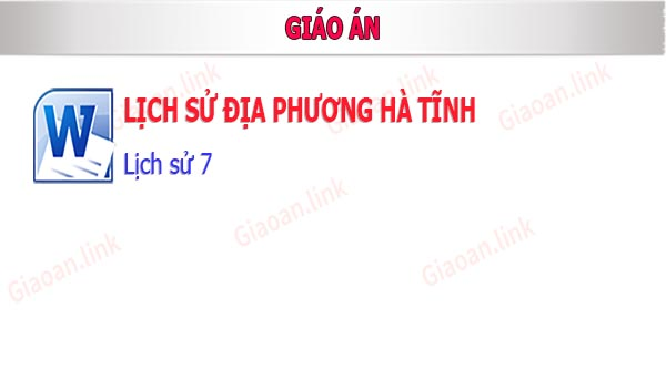 Lich su dia phương Ha Tinh - lich su 7