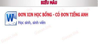 don xin hoc bong
