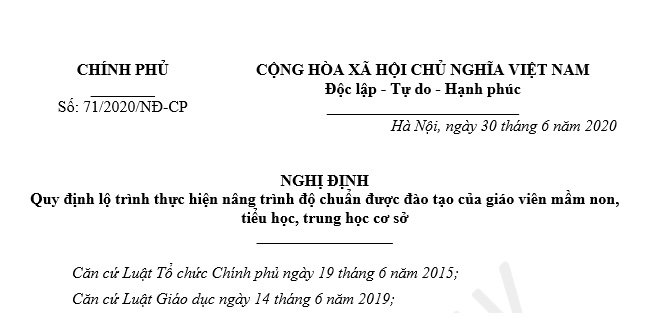 nghi dinh 71-2020-nd-cp