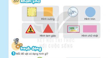Bộ hình SGK Toán lớp 1 Bài 7 sách kết nối tri thức với cuộc sống